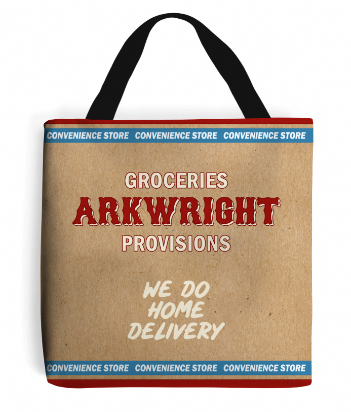 Arkwright's Shop - Grocery Shopping Tote Bag - Inspired by Still Open All Hours